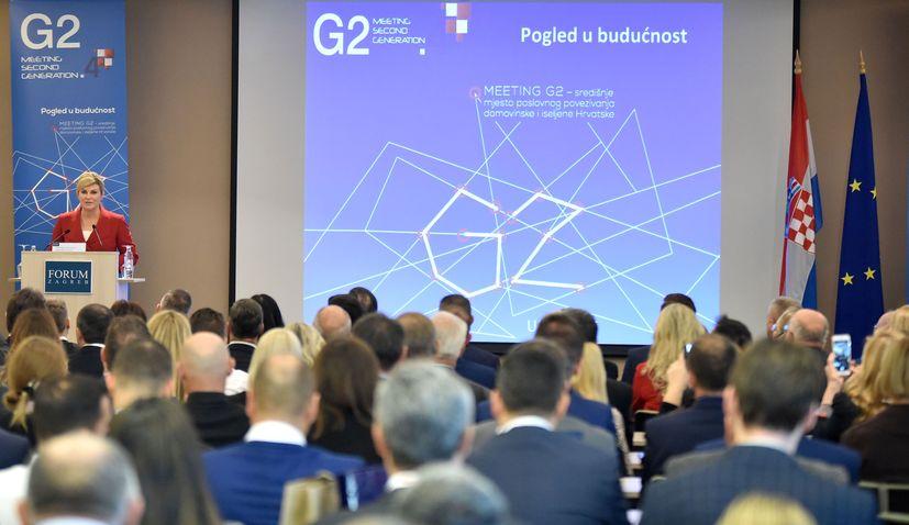 Croatian president addresses big diaspora meeting in Zagreb