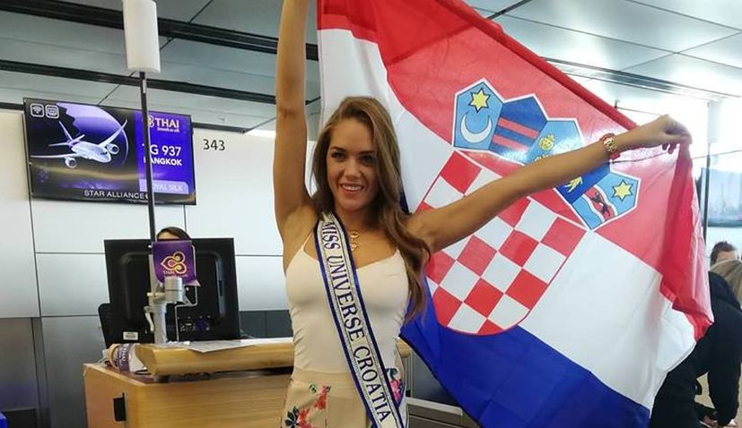 Miss Universe Croatia departs for Thailand ahead of Miss Universe 2018 pageant