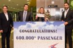 Zadar Airport welcomes 600,000th passenger for first time in its history