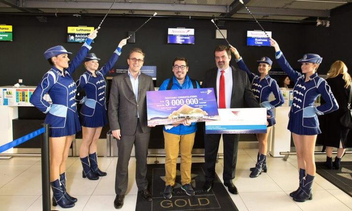 PHOTOS: Zagreb Airport welcomes 3 millionth passenger in record time
