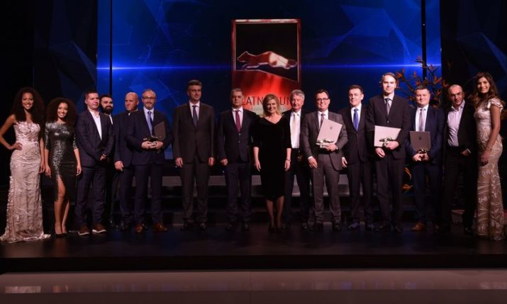 Zlatna Kuna: 2018 Croatian business awards held in Zagreb