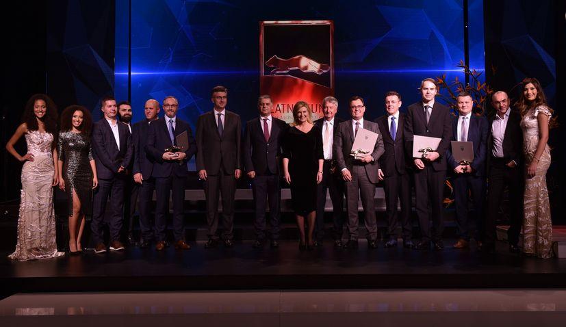 Zlatna Kuna: 2018 Croatian business awards held in Zagreb