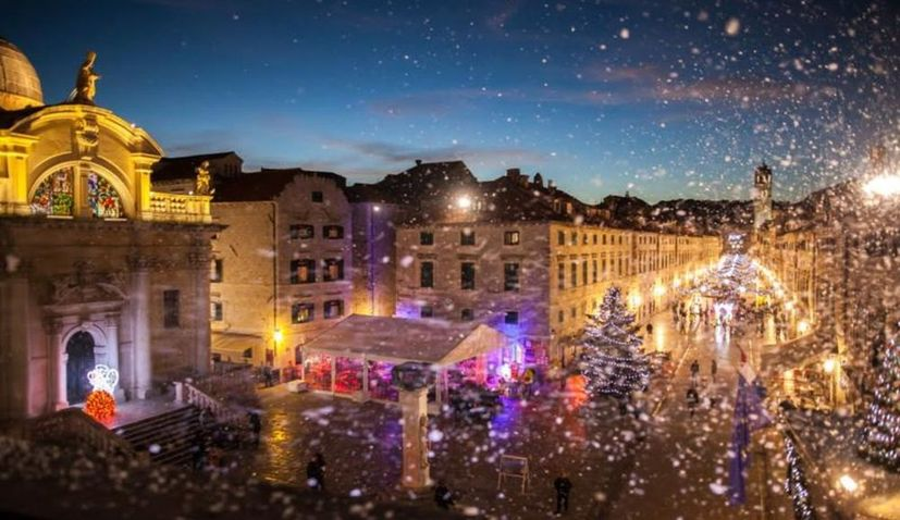 Dubrovnik Winter Festival is in full swing