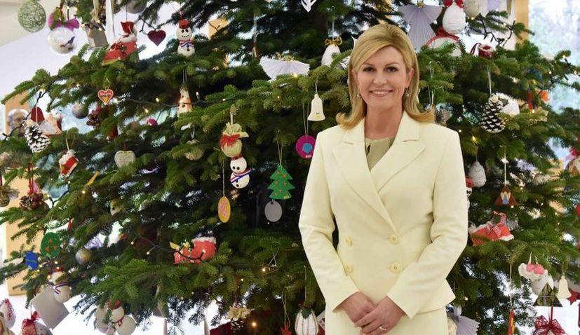 Croatian president extends Christmas greetings in message