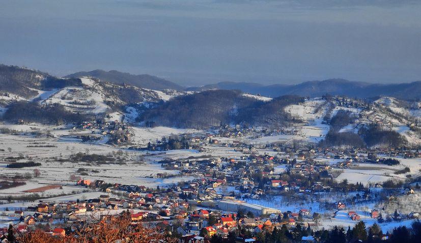 No Croatian white Christmas this year