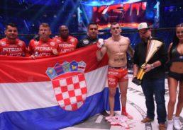 VIDEO: Croatian MMA fighter Roberto Soldić defends his title at KSW 49