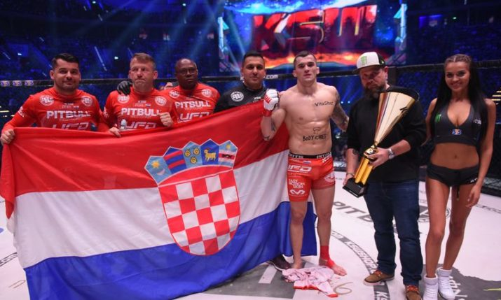 VIDEO: Top Croatian MMA fighter Roberto Soldić lands brutal knockout at KSW 46