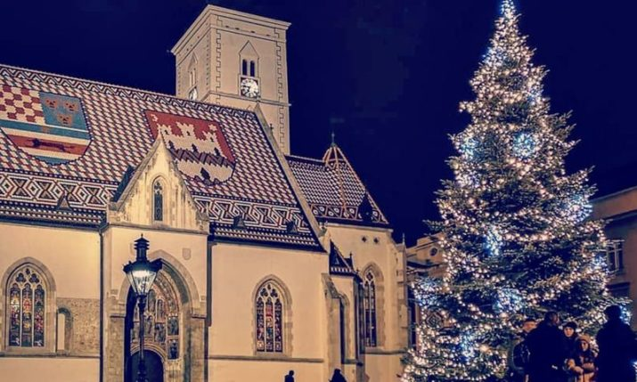 Christmas celebrated across Croatia