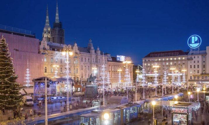 Stunning timelapse video shows magical Advent in Zagreb atmosphere