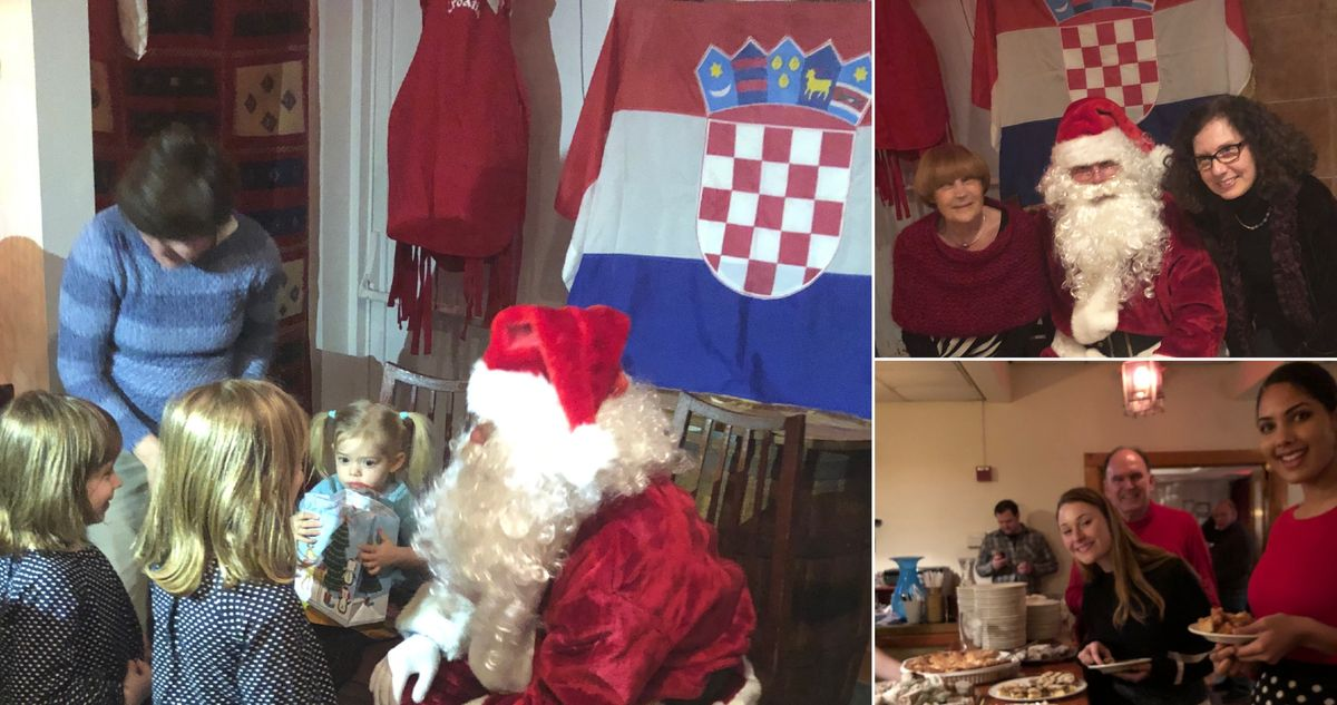 Celebrating Advent in New England, the Croatian style