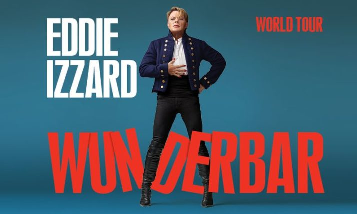 British comic Eddie Izzard bringing Wunderbar tour to Croatia