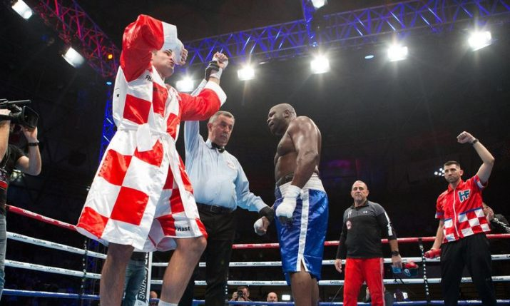 Filip Hrgović defends his WBC title with win in Zagreb over American Kevin Johnson