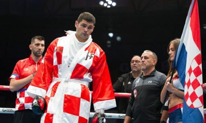 Croatian heavyweight Filip Hrgović confident ahead of U.S. debut