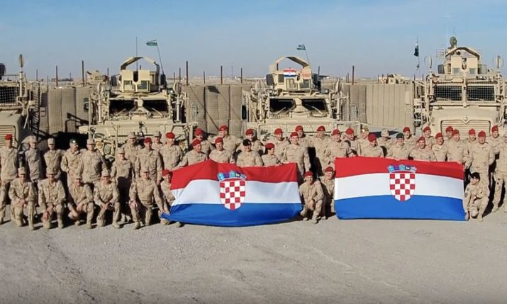 VIDEO: Christmas greetings from the Croatian peace mission in Afghanistan