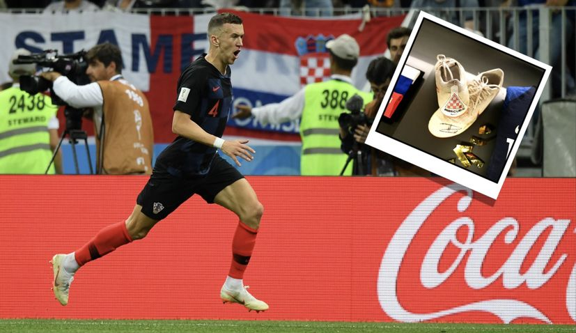 FIFA Museum showcase Ivan Perišić's World Cup man of the match boots