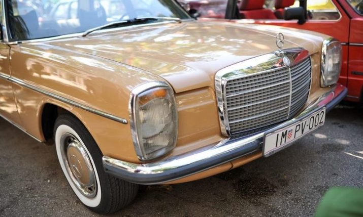 Mercedes-Benz visits Imotski, the town with the highest density of their cars in the world