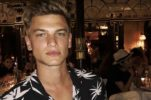 Young Croatian male model building big international career