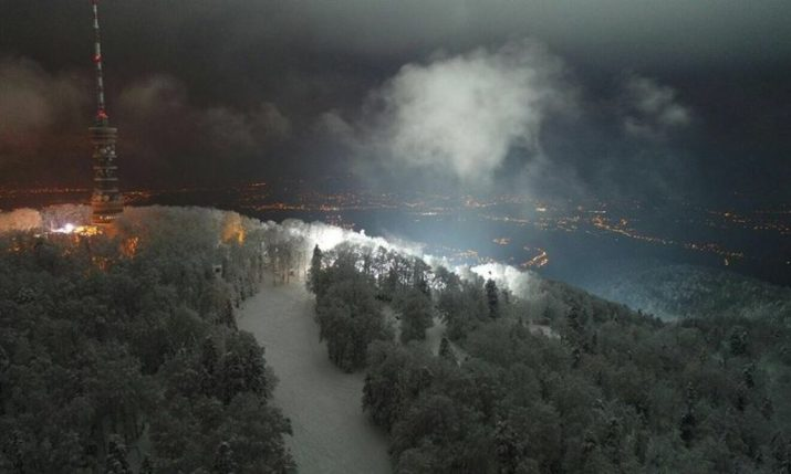 Night skiing opens on Zagreb's Sljeme