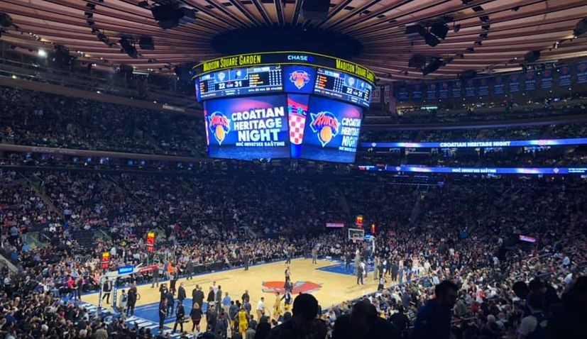 VIDEO: Croatian culture takes over the NBA in New York