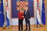 President of Croatia meets with Speaker of the House of Commons of Canada