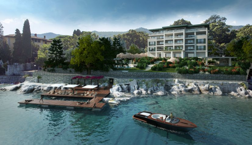 PHOTO: Luxury five-star boutique hotel to open in Ika near Opatija