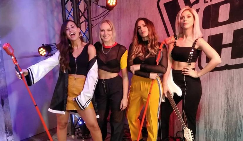 VIDEO: Croatian girl band creating history on The Voice of Holland
