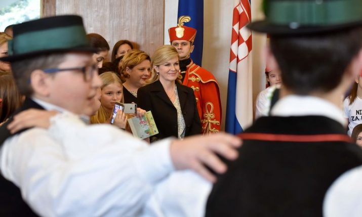 "President hosts ""for a more beautiful Croatia"" open day"
