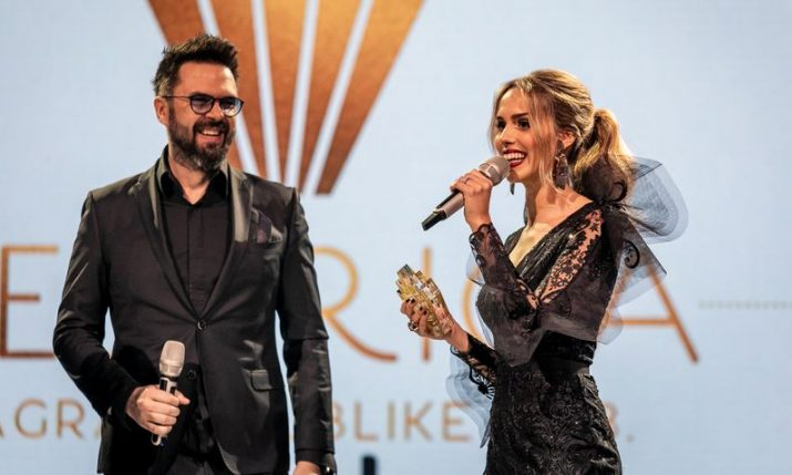 VIDEO: Croatian music hit of the year awards held