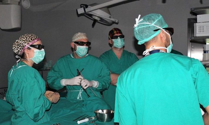 First ever 3D endoscopic surgery in Croatia performed at KBC Zagreb hospital