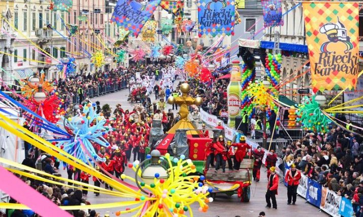 36th Rijeka Carnival in full swing
