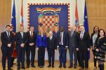 Croatian president receives  World Business Angels delegation after office opening in N-W Croatia