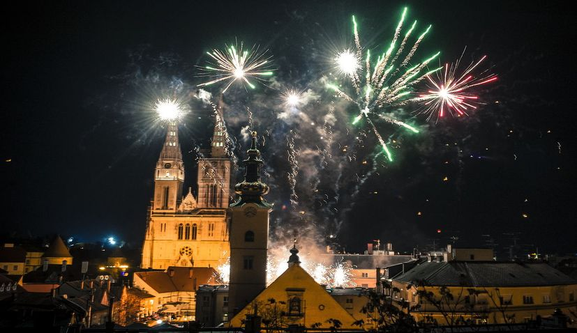 Croatia welcomes in 2019 with open-air celebrations around the country