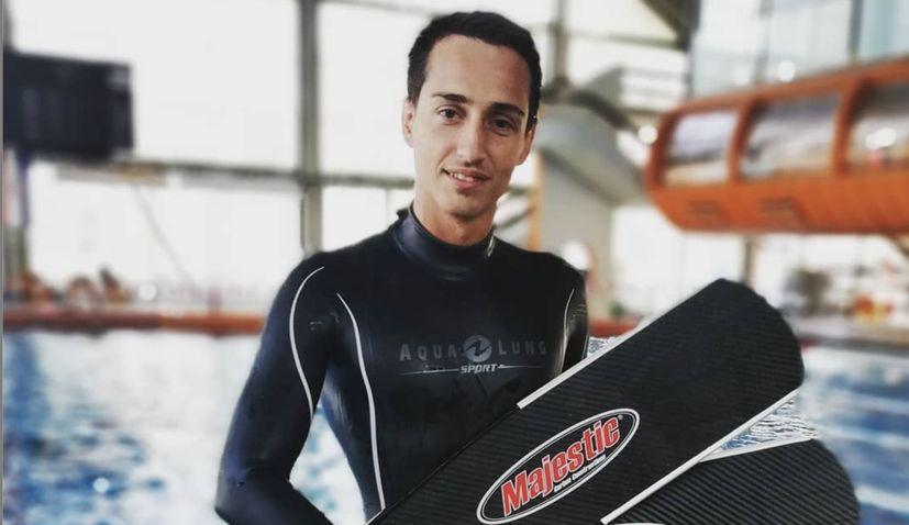 Croatian free-diver Boris Milošić sets new world record