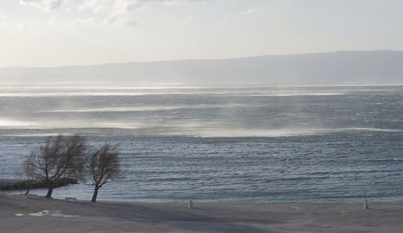 VIDEO: Strongest bura winds ever recorded in Split overnight