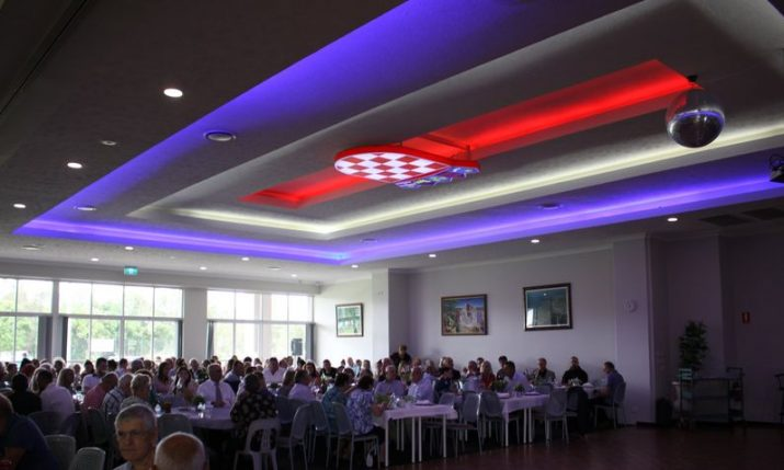 VIDEO: Croatians on Australia's Gold Coast open & bless brand new chapel