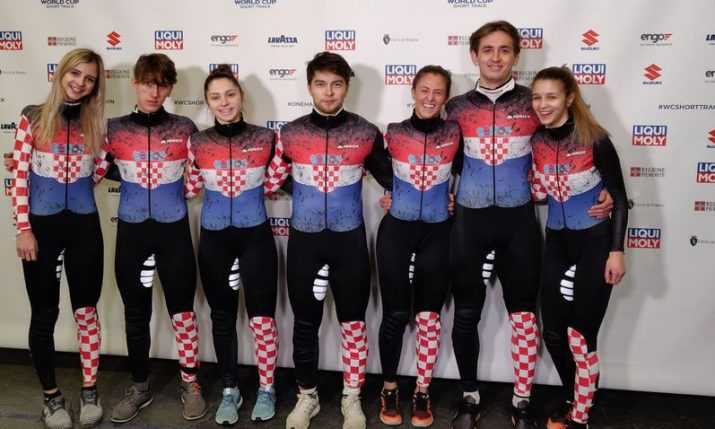 Croatia finishes in the TOP 13 of the world's fastest speed skaters for first time in history over 500 metres