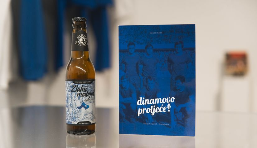 Special limited edition beer released to celebrate Dinamo  Zagreb's spring Europe return