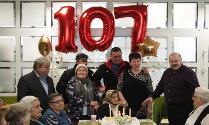 Croatia's oldest woman celebrates 107th birthday