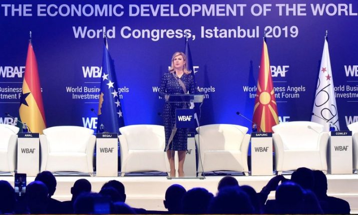 Croatian president invites businesspeople to invest in Croatia at World Congress of Angel Investors