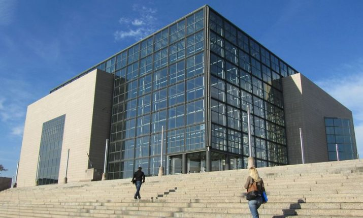 Croatian National & University Library marking 412th anniversary