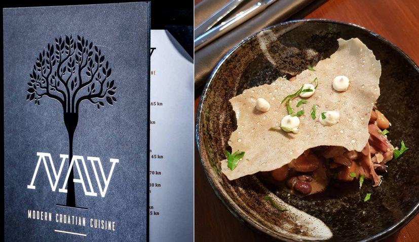PHOTOS: Modern Croatian cuisine restaurant NAV opens in Zagreb