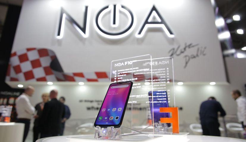 Croatian brand NOA presents latest smartphone in Barcelona