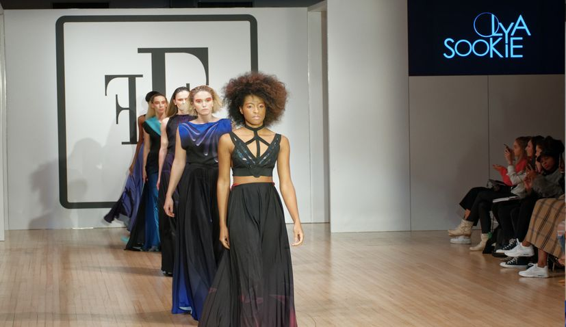 Croatian designer presents new collection at London Fashion Week's Fashion Finest