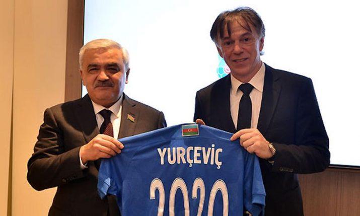 Azerbaijan appoint Croatian Nikola Jurčević as new head coach