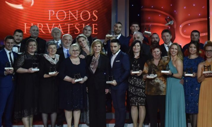 Pride of Croatia Awards presented