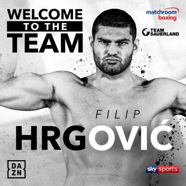 Croatian Boxer Filip Hrgović Signs Deal To Fight Live On