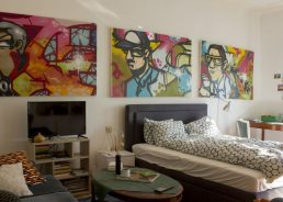 PHOTOS: Croatia's first street art apartment