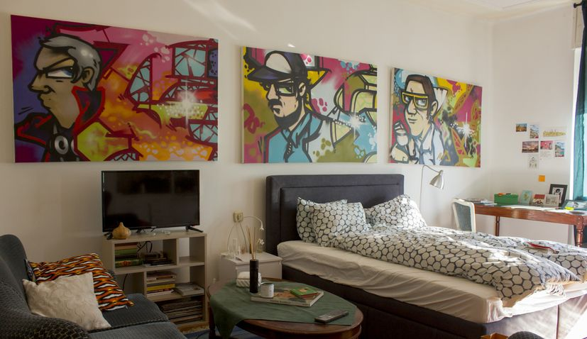 PHOTOS: Croatia's first street art apartment