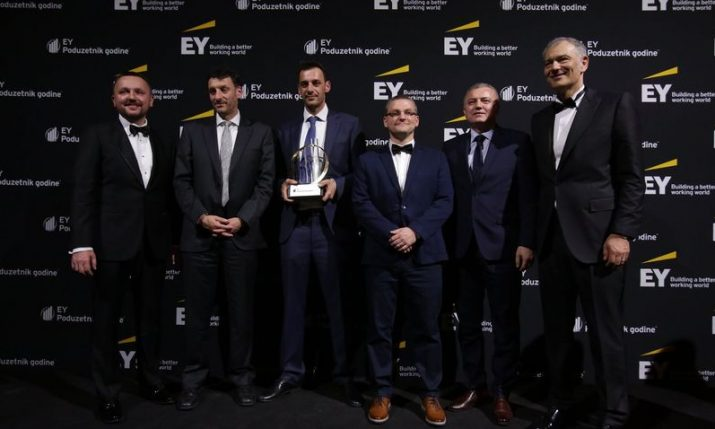 Infobip founders win Ernst and Young Entrepreneur of the Year™ award in Croatia