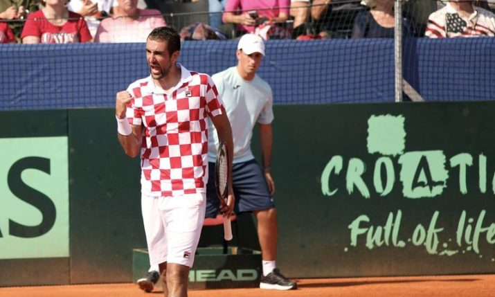 Croatia to open Davis Cup finals in Madrid against Russia